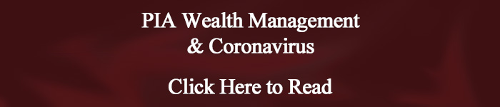 PIA Wealth Management & Coronavirus
