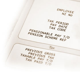 Pension Wage Slip